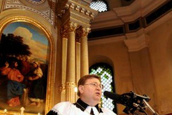 Slavomír Sabol. Stal sa najmladším biskupom v histórii ECAV