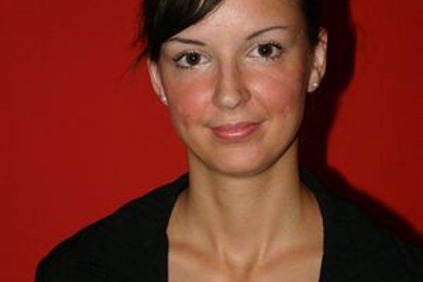 Ivana Ondriová. Napísala knihu Detský plač v podkroví.