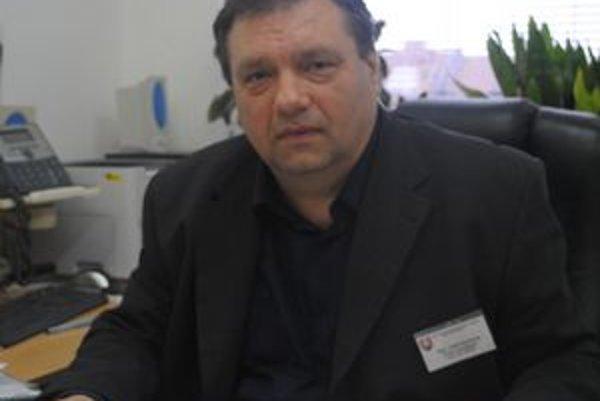 Jozef Krankota. Predseda odborového zväzu ZO Sloves v Prešove.