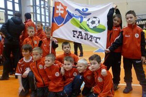 FAMT Prešov. Víťazi kategórie U8.