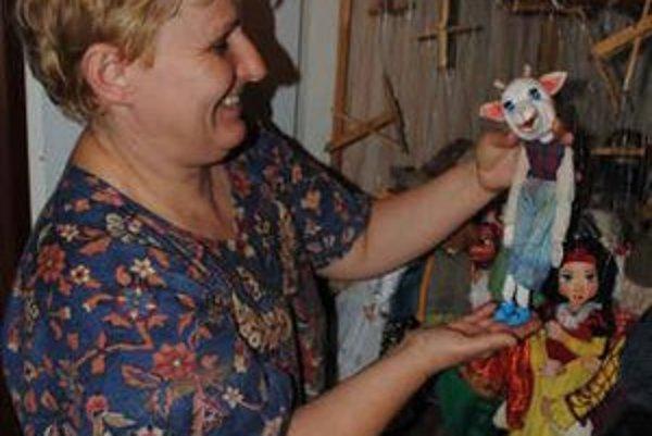 Iveta Mihoková je prešovská bábkoherečka