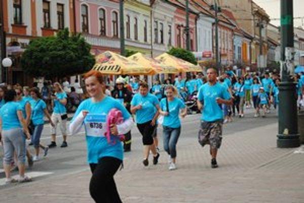 Beh pre život. V Prešove sa ho zúčastnilo 4282 ľudí.