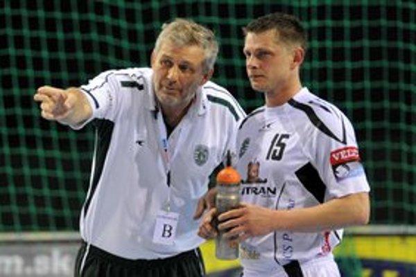 Osobnosť tímu. Skúsený Saša Radčenko je stále kľúčovou postavou majstrov.