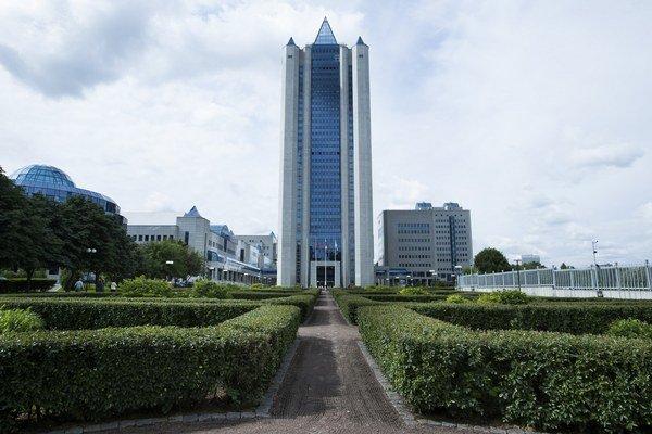Sídlo Gazpromu v Moskve.