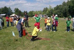 Deň detí v Trnkove. Oslávili ho v sobotu spolu s hasičmi.