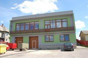 Obecný úrad v Malom Slivníku.