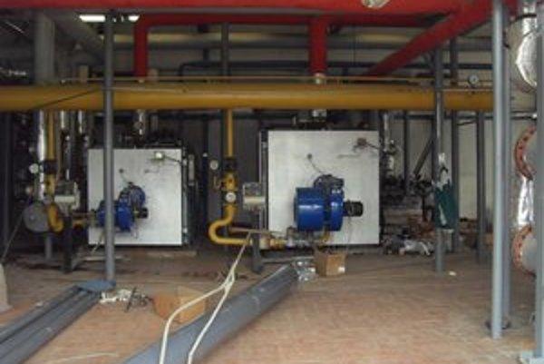 Kotolňa na Karpatskej. Aj v tejto na budúci týždeň prerušia dodávku teplej vody.