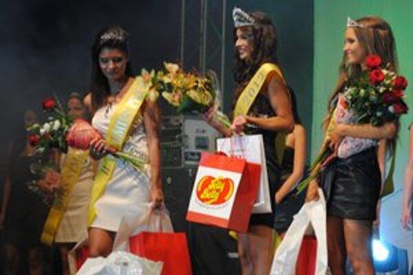 Tri najúspešnejšie dievčatá súťaže.