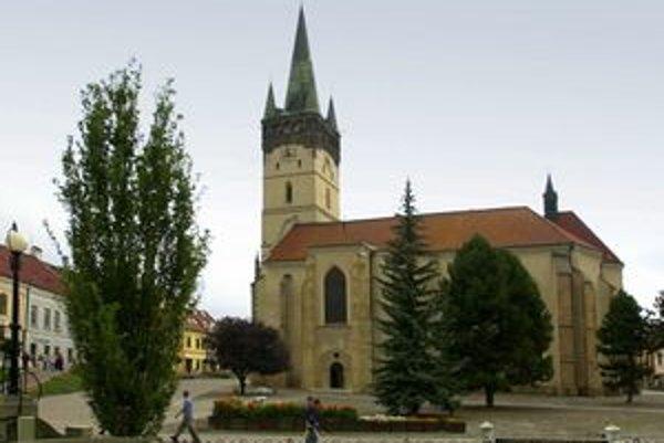 Výstup na vežu konkatedrály sv. Mikuláša patrí k prešovským atrakciám.