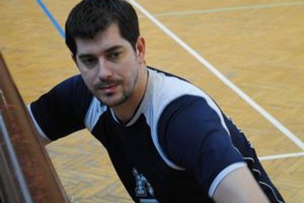 Milan Gešperik. Ústredná postava vranovského volejbalu.