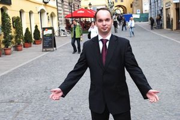 Marián Beliš. Organizátor pracovného veľtrhu.