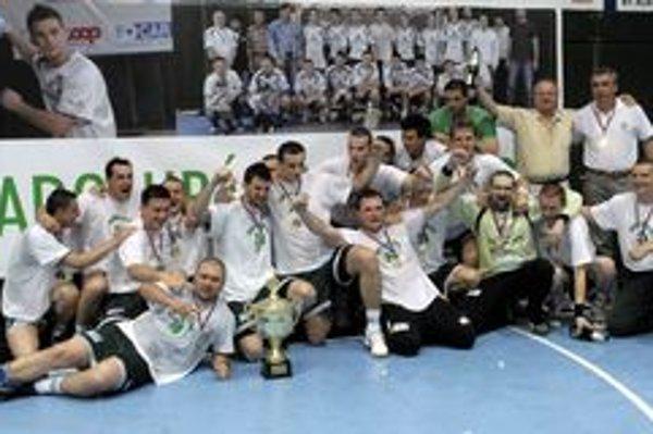 Po dvoch rokoch. Tatran si takto pred dvoma rokmi vychutnával titul po zdolaní Košíc.