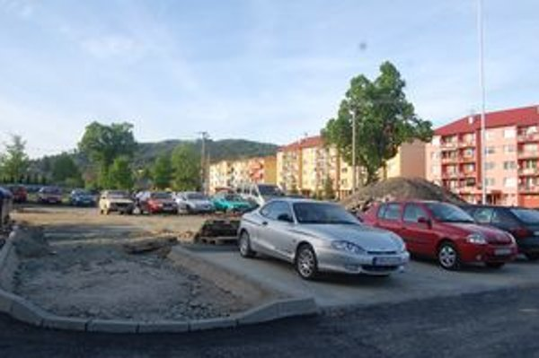 Nové parkovacie miesta. Pribudnú aj v lokalite Pod Kopaninou.
