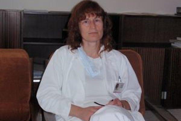 Nataša Špiláková. Primárka Infekčného oddelenia FNsP J. A. Reimana v Prešove.