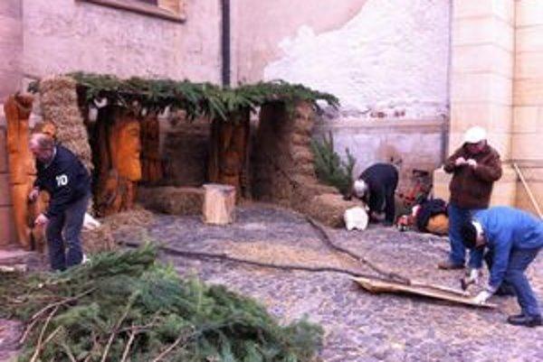 Ani tento rok betlehem v Prešove chýbať nebude.