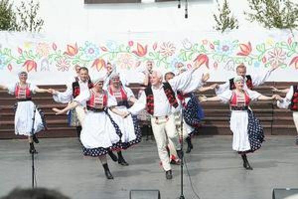 Karpaťanin. Na Svidníckych slávnostiach piesní a tancov vo Svidníku v roku 2008.