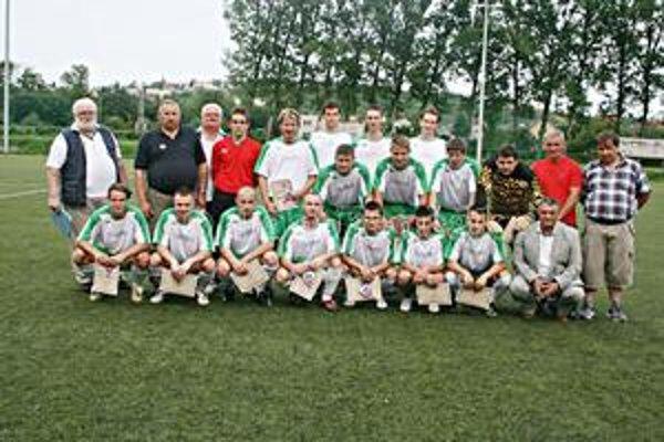 FK Kendice vyhrali jednu zo skupín piatej futbalovej ligy.