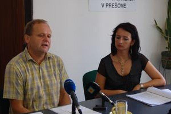 Jozef Balica a Jana Polaščíková.