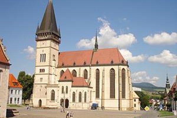 Bazilika. Je najvýznamnejšou pamiatkou.