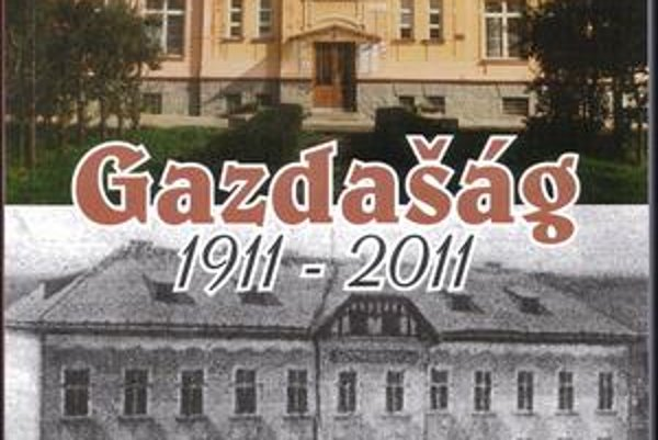 Nová kniha. Staviarsky napísal publikáciu Gazdašág 1911 - 2011.