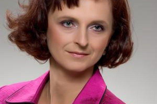 Marta Kollárová. Poslankyňa kandiduje ako nezávislá.
