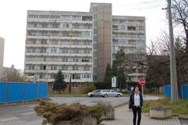 Bytovka na Kúpeľnej ulici, kde kúpil Ondrej Matej mestský byt.