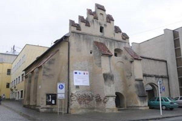Caraffova väznica patrí k najstarším prešovským pamiatkam.