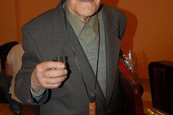 Deväťdesiatnik Ján Lazorík.