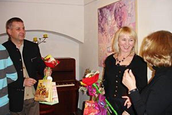 Ivona Jankowska Kozak a Józef Franczak. Výstava poľských výtvarníkov je pre Bardejovčanov otvorená do 13. decembra.