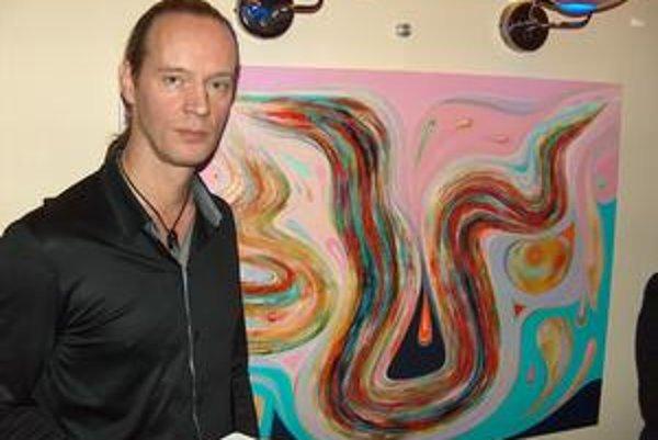 Peter Kocák a jeho dielo. Maľoval ho štyri dni a štyri noci.