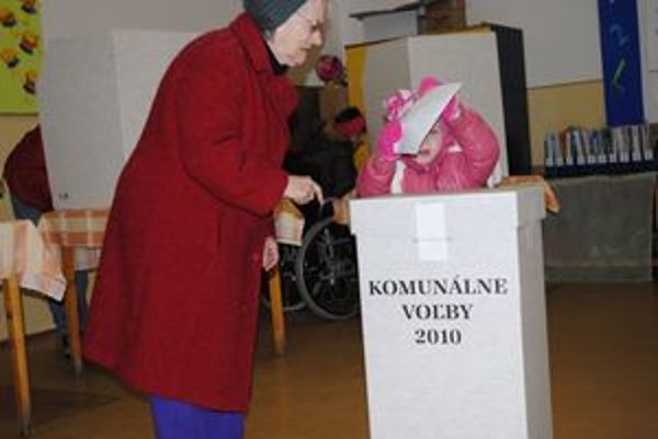 V Prešove chodia voliť všetky generácie.