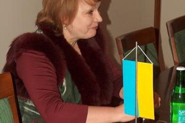Oľga Benč, generálna konzulka Ukrajiny navštívila prešovskú radnicu.