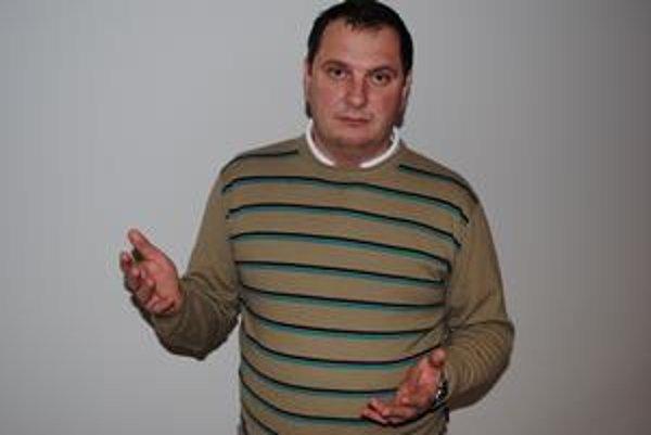 Jozef Muránsky. Nový predseda SDKÚ-DS v Prešove.