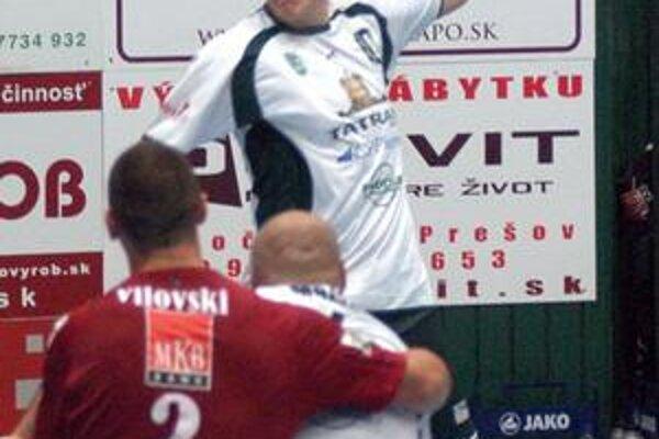 Dajnis Kristopans. V Košiciach bol najlepším strelcom Prešova.
