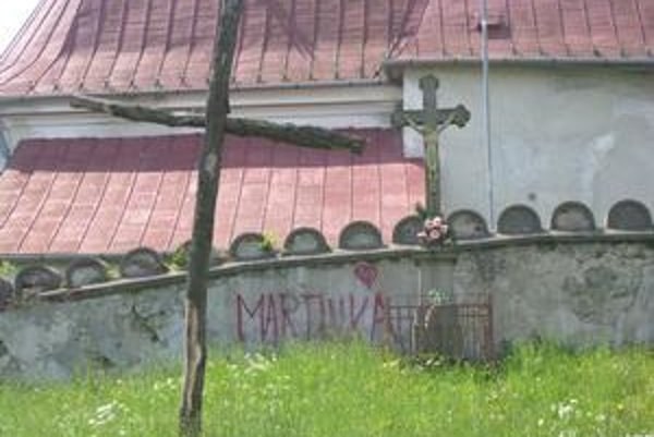 Kostol svätého Štefana. Je v dezolátnom stave.