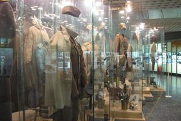 Expozícia VHÚ vo Svidníku. V roku 2010 ju čakajú zmeny.