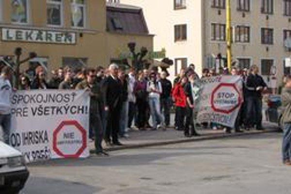 Svidníčania tvrdia, že mesto nerešpektovalo petíciu.