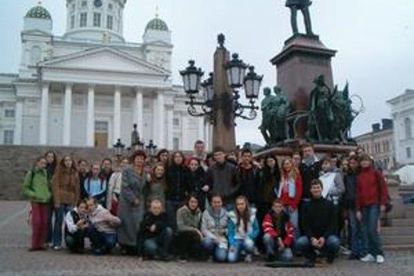 Speváci. Z Fínska si doniesli množstvo zážitkov.