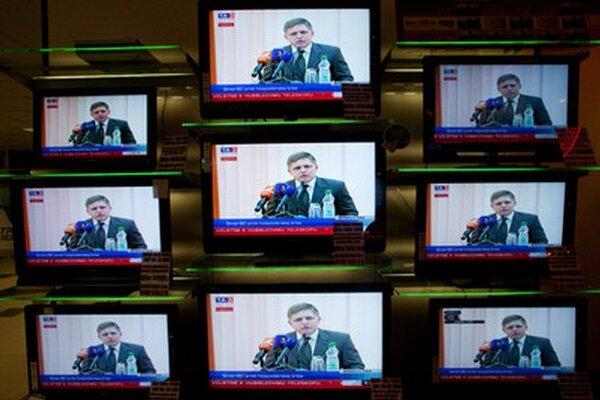 Robert Fico politické diskusie navštívil spolu 43-krát, bez oponenta diskutoval 19-krát.
