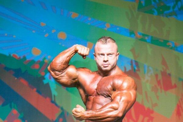 Andrej Mozoláni obsadil na víkendových profesionálnych pretekoch 2016 IFBB Europa Charlotte Pro 2. miesto.