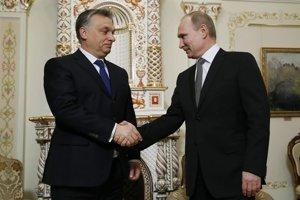 Orbán tvrdí, že s Putinom uzavrel len výhodný obchod.
