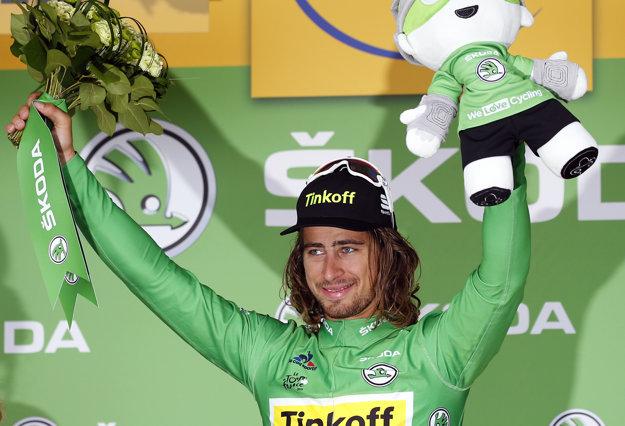 Peter Sagan získal naspäť aspoň zelený dres.