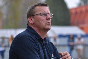 Tréner Emil Sudimák. S uplynulou sezónou nie je spokojný.