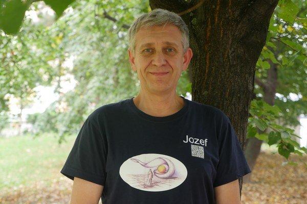Jozef Vaško. Všetko čo ho zaujme, chce vyskúšať.