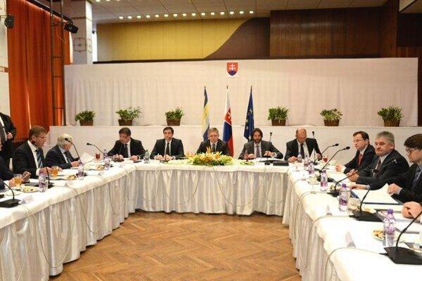 Výjazdová 184. schôdza vlády SR v Trebišove 4. novembra 2015.