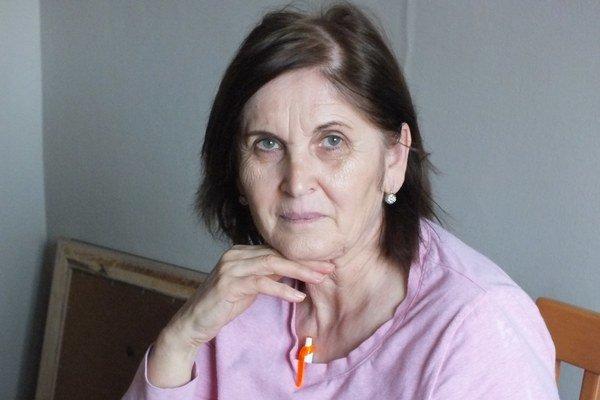 Edita Takáčová. Neustále sa sama odborne vzdeláva.