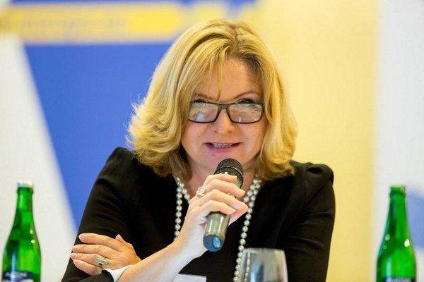 Oľga Pietruchová. Je expertka alektorka pre nediskrimináciu arodovú rovnosť.