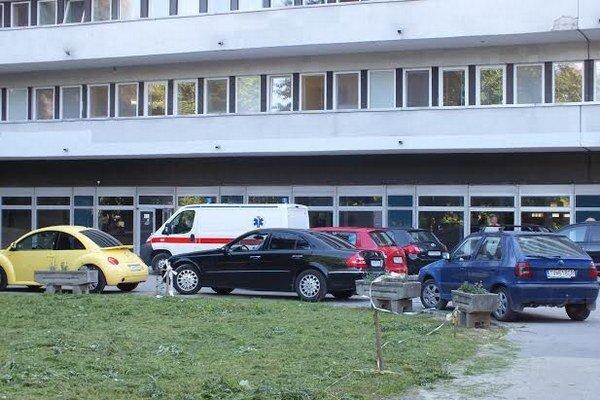 Trebišovská nemocnica. Miroslava vnej už nie je.