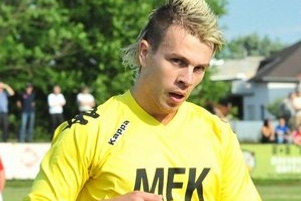 Najlepší kanonier súťaže. Osemnásťgólový Sečovčan Tomáš Čižmár.
