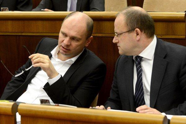Jozef Mihál (vpravo).